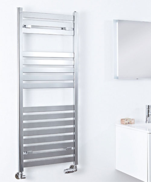 Alternate image of Phoenix Ascot 500 x 1600mm Pre Filled Electric Radiator Chrome
