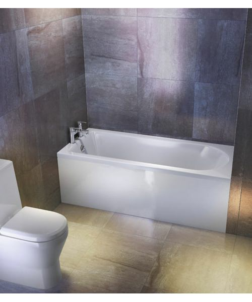 Additional image of Britton Cleargreen Reuse 1500 x 700mm Single Ended Bath