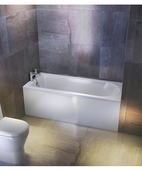 Additional image of Britton Cleargreen Reuse 1600 x 700mm Single Ended Bath
