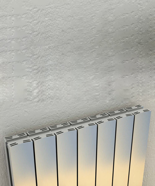 Alternate image of Reina Luca Double Sided Polished Aluminium Radiator 470 x 600mm