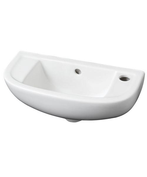 Additional image of RAK Compact 450mm Slim Line Wall Mounted Sink