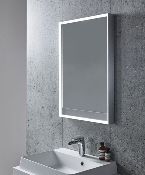 Additional image of Tavistock Pitch LED Illuminated Mirror With Wireless Bluetooth Technology