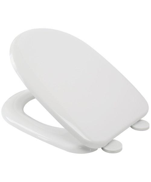 Croydex Panama D Shaped Toilet Seat