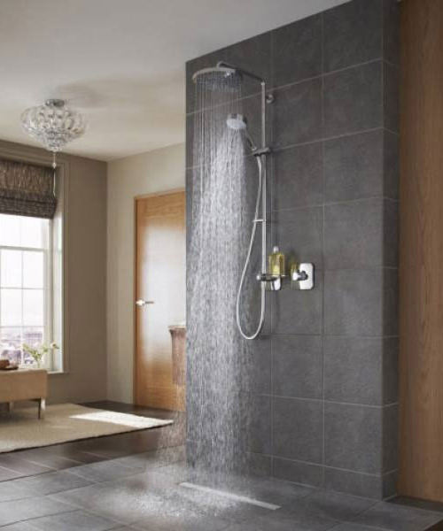 Additional image of Mira Adept BRD Thermostatic Mixer Shower Chrome