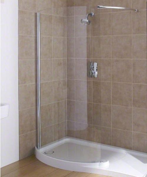 Flight Bathroom Door: Mira Flight 1700 X 700mm Right Handed Walk In Shower Tray