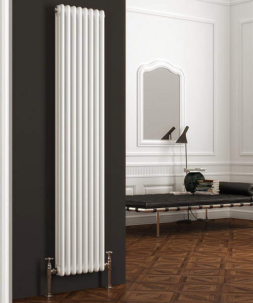 Reina Colona 1500mm High Vertical 2 Column Radiator