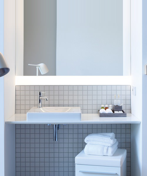Additional image of Duravit X-Large 2 Cut-Out White Matt Variable Lengthx480mm Console