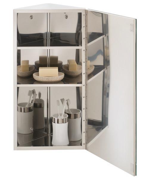 Alternate image of RAK Riva 300 x 660mm Corner Mirror Unit