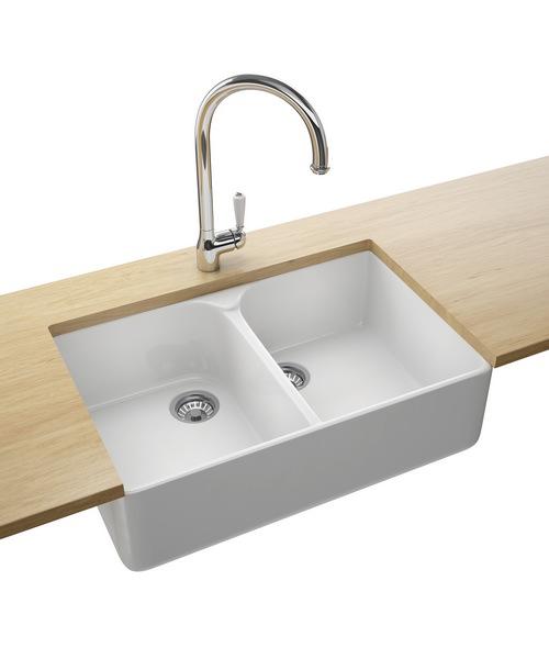 Additional image of Franke Belfast VBK 720 Ceramic 2.0 Bowl White Kitchen Sink