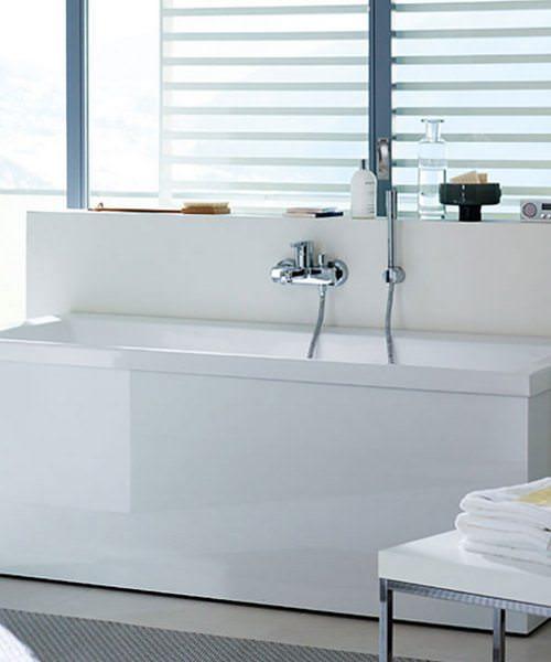 Duravit Vero 1700 x 750mm Bath With One Backrest Slope