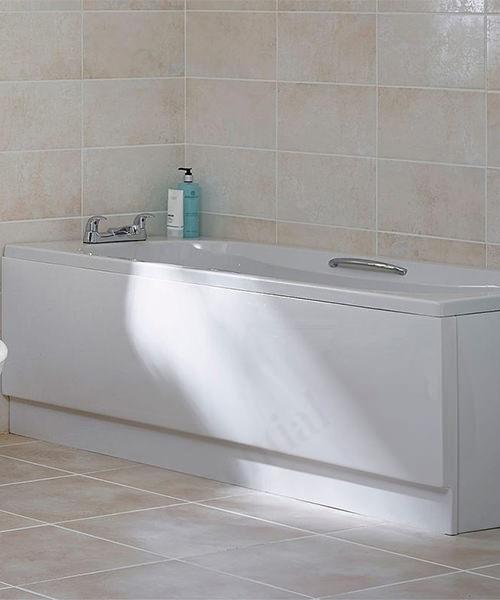 Alternate image of Essential Ocean Single Ended 1700 x 700mm Rectangular Bath