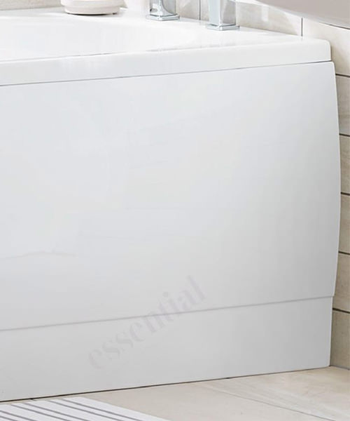 Alternate image of Essential Camden 1500 x 700mm Rectangular Single Ended Bath