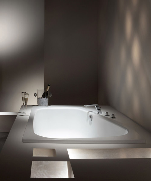 Additional image of Kaldewei Avantgarde Plaza Duo Left Handed Steel Bath 1800 x 1200mm