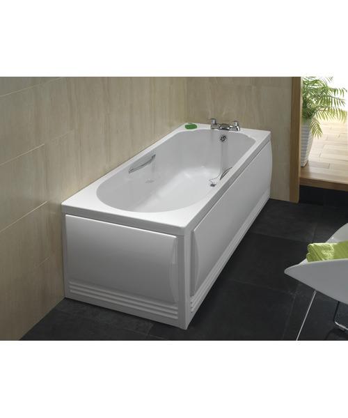 Additional image of Twyford Option Single Ended Acrylic Bath 1700 x 700mm