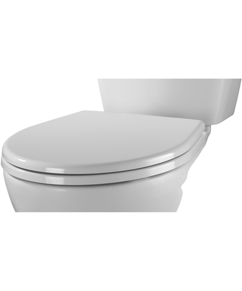 Alternate image of Twyford Alcona Toilet Seat And Cover White