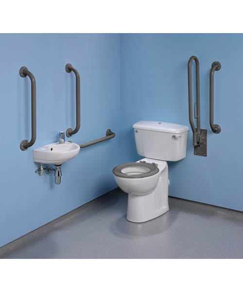 Additional image of Twyford Doc.M Standard Value Pack With Grab Rails And Seat