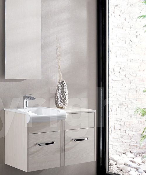 Additional image of Bauhaus Essence Glacier 600mm Single Drawer Unit And Basin