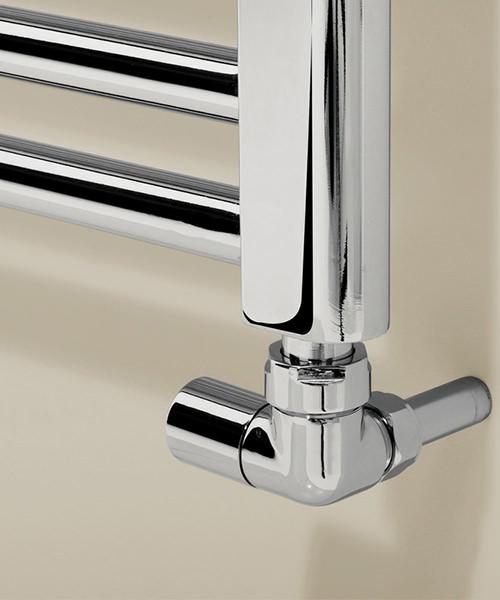 Alternate image of Bauhaus Design 600 x 690mm Flat Panel Towel Rail