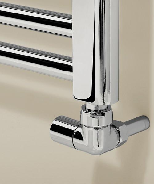 Alternate image of Bauhaus Design 600 x 1700mm Flat Panel Towel Rail
