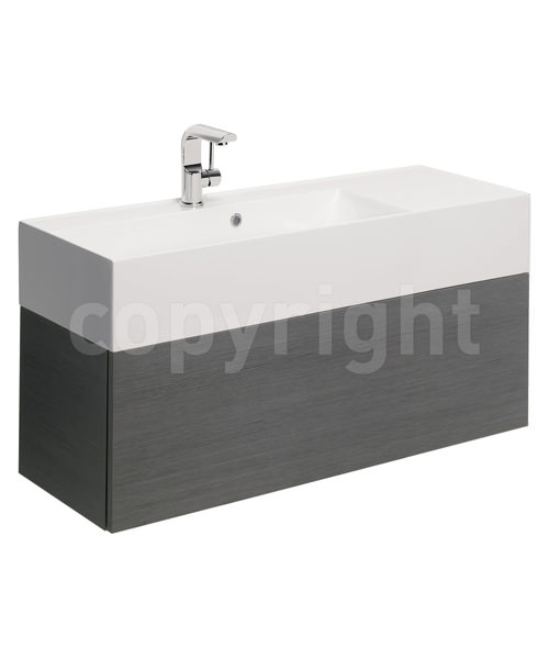 Additional image of Bauhaus Elite 1000mm Square Vanity Basin With Overflow