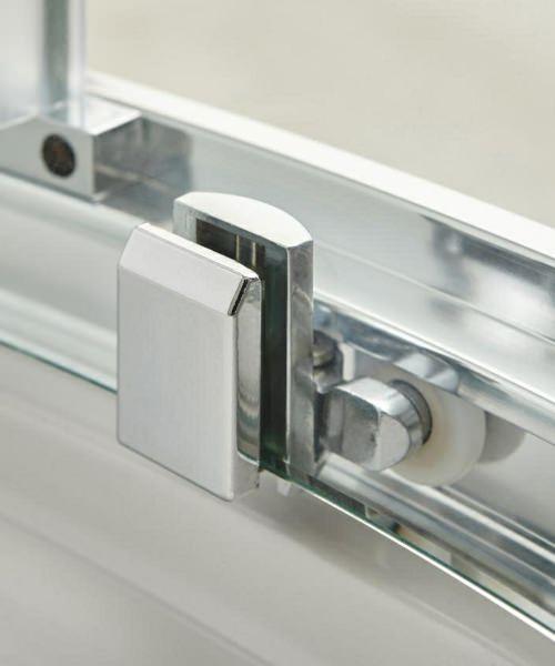 Additional image of Beo Framed 1200 x 800mm Offset Quadrant Shower Enclosure