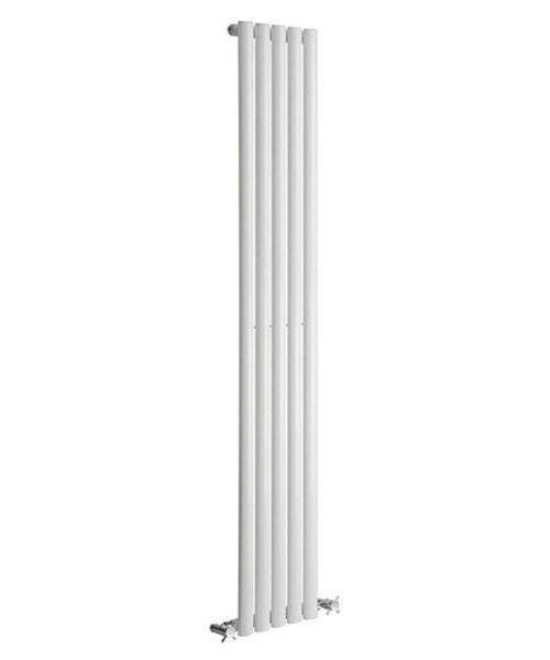 Alternate image of Reina Neva Anthracite 295 x 1800mm Single Panel Vertical Radiator