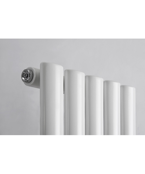 Additional image of Reina Neva Anthracite 413 x 1500mm Single Panel Vertical Radiator