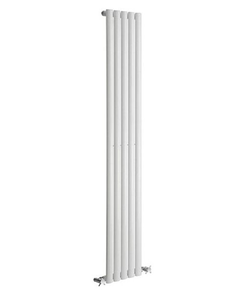 Alternate image of Reina Neva Anthracite 413 x 1500mm Single Panel Vertical Radiator