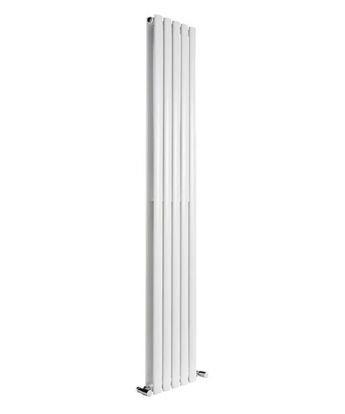 Alternate image of Reina Neva Anthracite 413 x 1500mm Double Panel Vertical Radiator