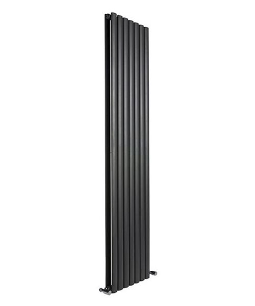 Alternate image of Reina Neva Anthracite 295 x 1800mm Double Panel Vertical Radiator