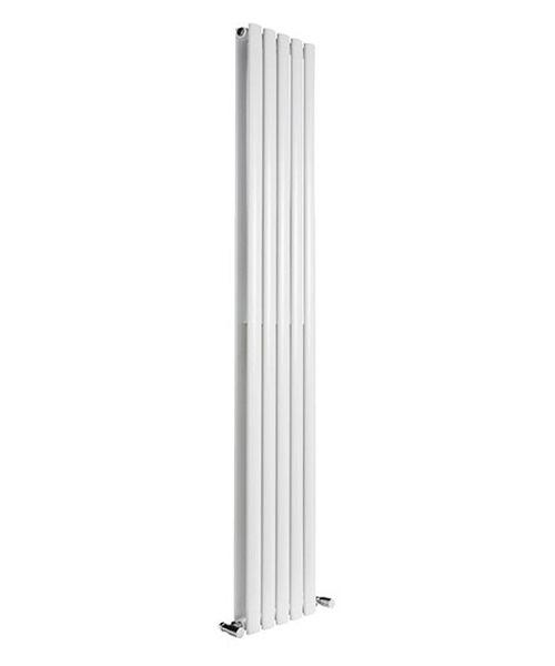 Alternate image of Reina Neva Anthracite 413 x 1800mm Double Panel Vertical Radiator