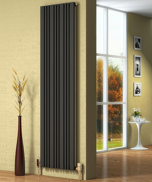 Alternate image of Reina Bonera 324 x 1800mm Anthracite Designer Radiator