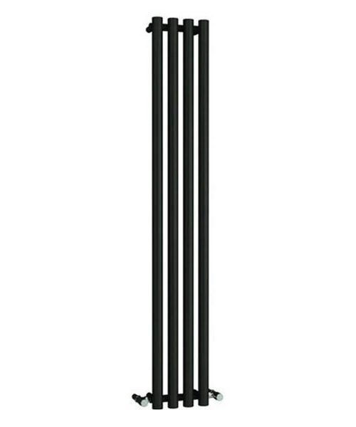 Alternate image of Reina Oria White 270 x 1800mm Designer Vertical Radiator