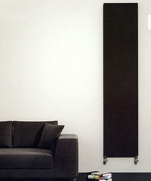 Alternate image of Reina Lasina Anthracite 400 x 1800mm Designer Vertical Radiator