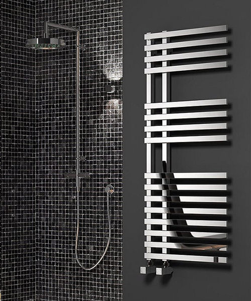 Alternate image of Reina Felino Chrome 500 x 775mm Designer Vertical Radiator