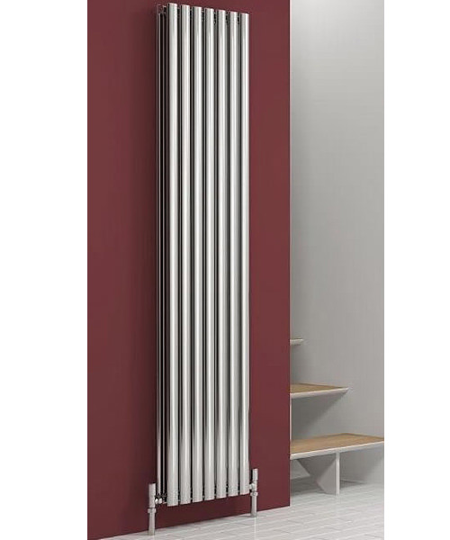 Alternate image of Reina Nerox Double Polished 295 x 1800mm Stainless Steel Radiator
