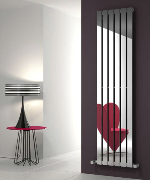 Alternate image of Reina Lavian 285 x 1800mm Polished Stainless Steel Radiator