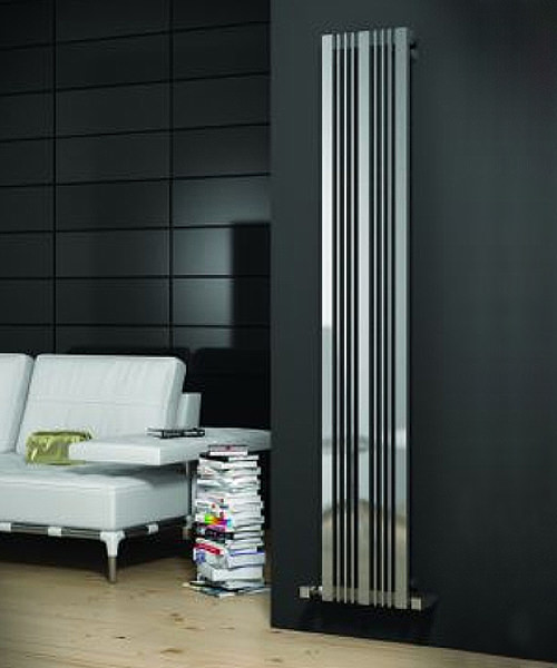 Alternate image of Reina Karia Satin Finish 300 x 1800mm Stainless Steel Radiator