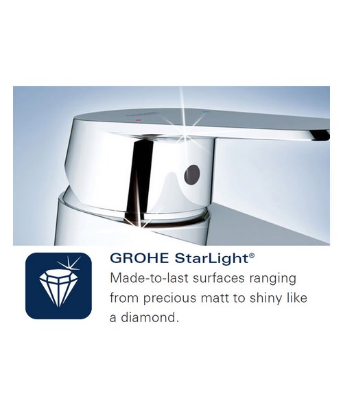 Additional image of Grohe Concetto Chrome Single Lever Bath Shower Mixer Valve Trim
