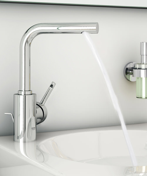 Additional image of Grohe Essence Monobloc Basin Mixer Tap With Pop Up Waste