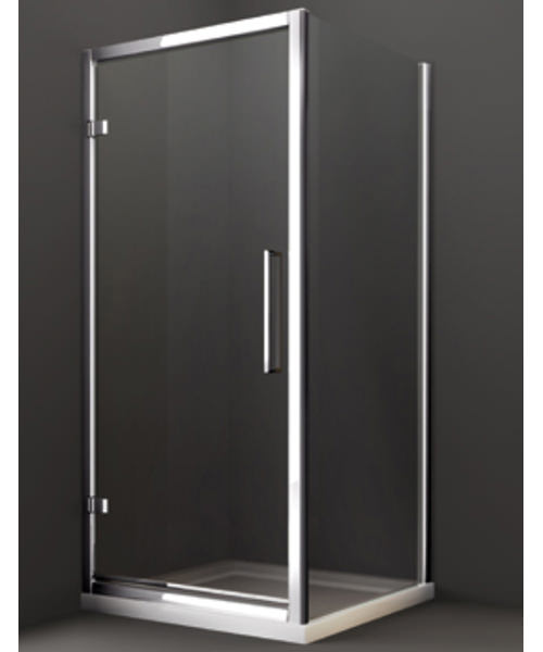 Additional image of Merlyn 8 Series Hinge Shower Door 700mm