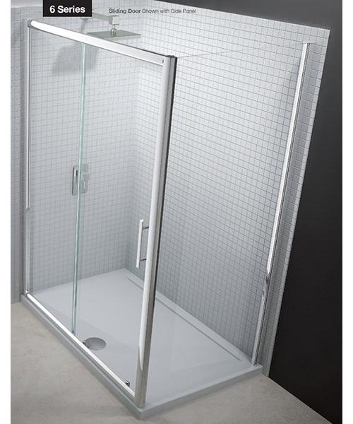 Additional image of Merlyn 6 Series Sliding Shower Door 1200mm