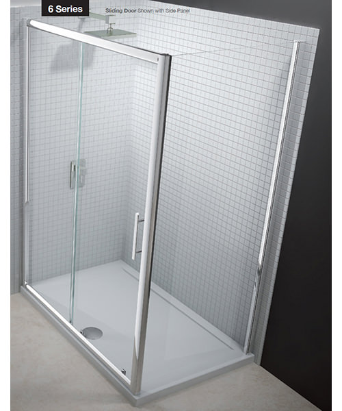 Additional image of Merlyn 6 Series Sliding Shower Door 1400mm