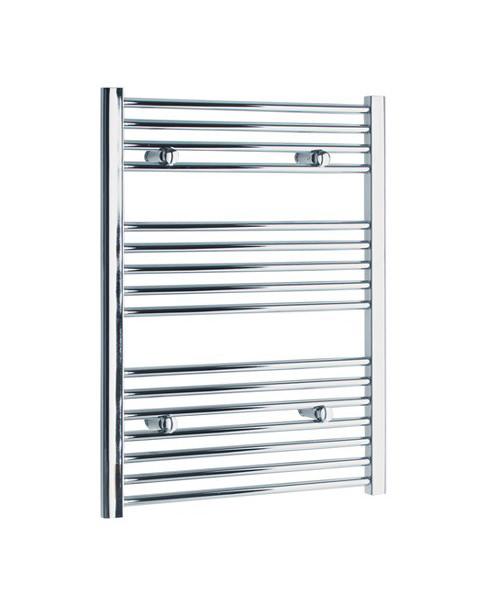 Tivolis Straight Heated Towel Rail 600 x 800mm - Chrome