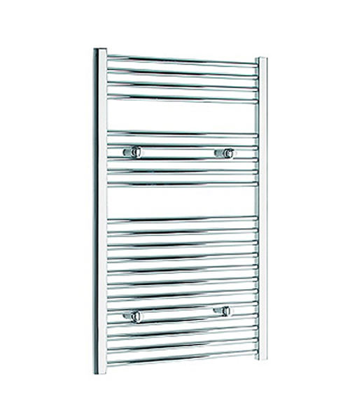 Tivolis Straight Heated Towel Rail 600 x 1200mm - Chrome