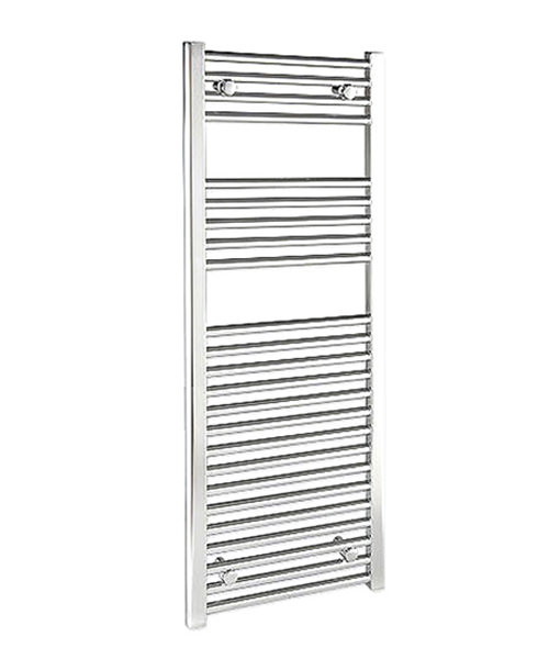 Tivolis Straight Heated Towel Rail 600 x 1400mm - Chrome