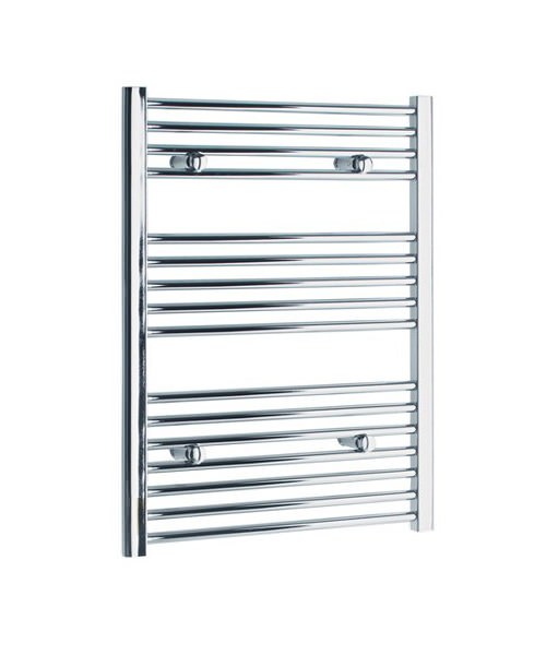 Tivolis Straight Heated Towel Rail 450 x 800mm - Chrome