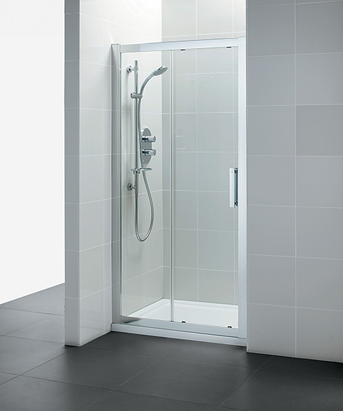 Ideal standard synergy sliding shower door 1000mm for 1000mm shower door