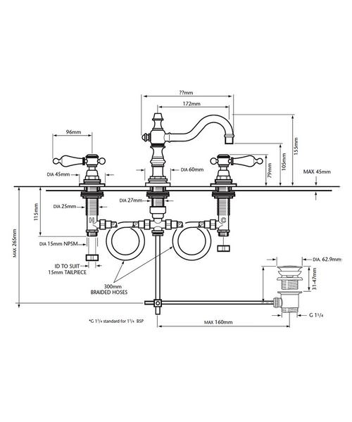 Technical drawing 21554 / TGRC09