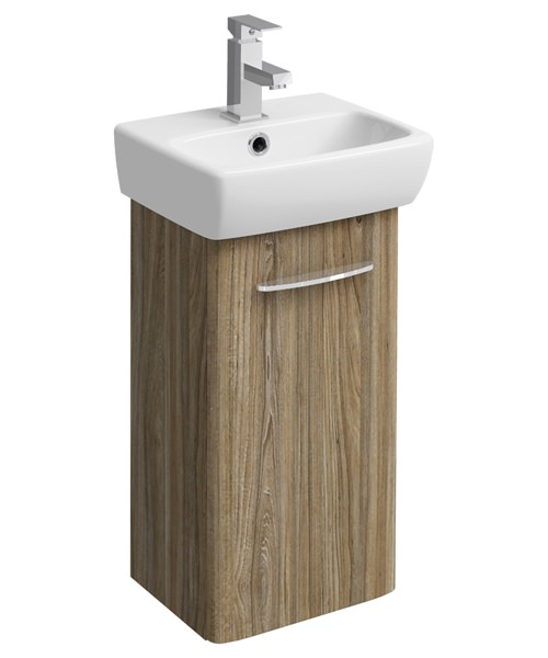 Additional image of Twyford E100 Square 305mm Unit For 360mm Single Or Two Hole Washbasin